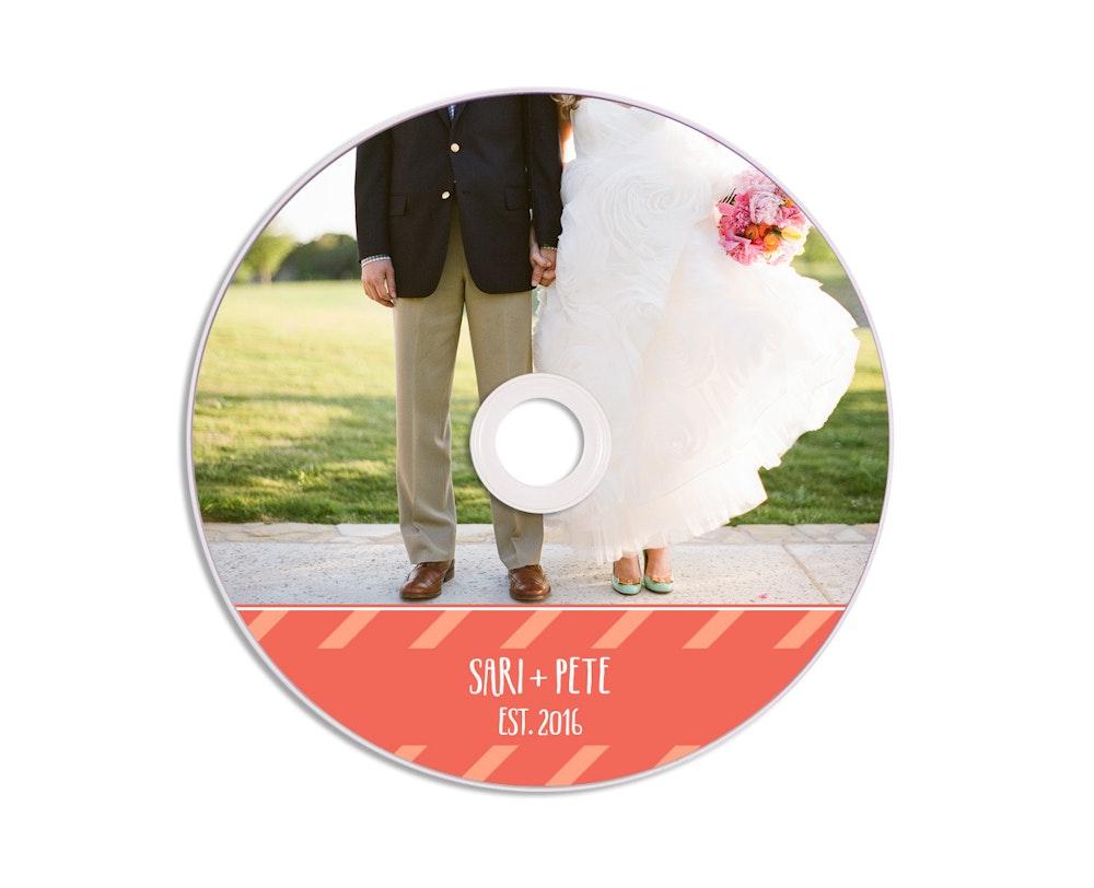 Wedding Printed DVD design