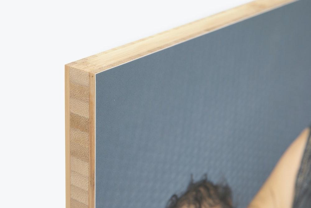 Bamboo Panel edge corner detail