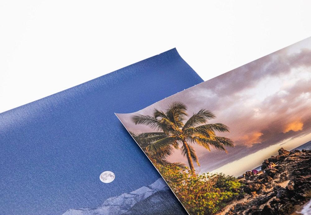 Canvas Prints surface category corner detail