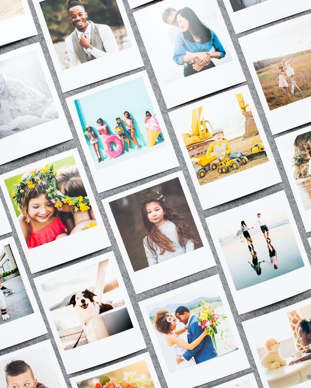 Collage of multiple Mini Snapshot prints