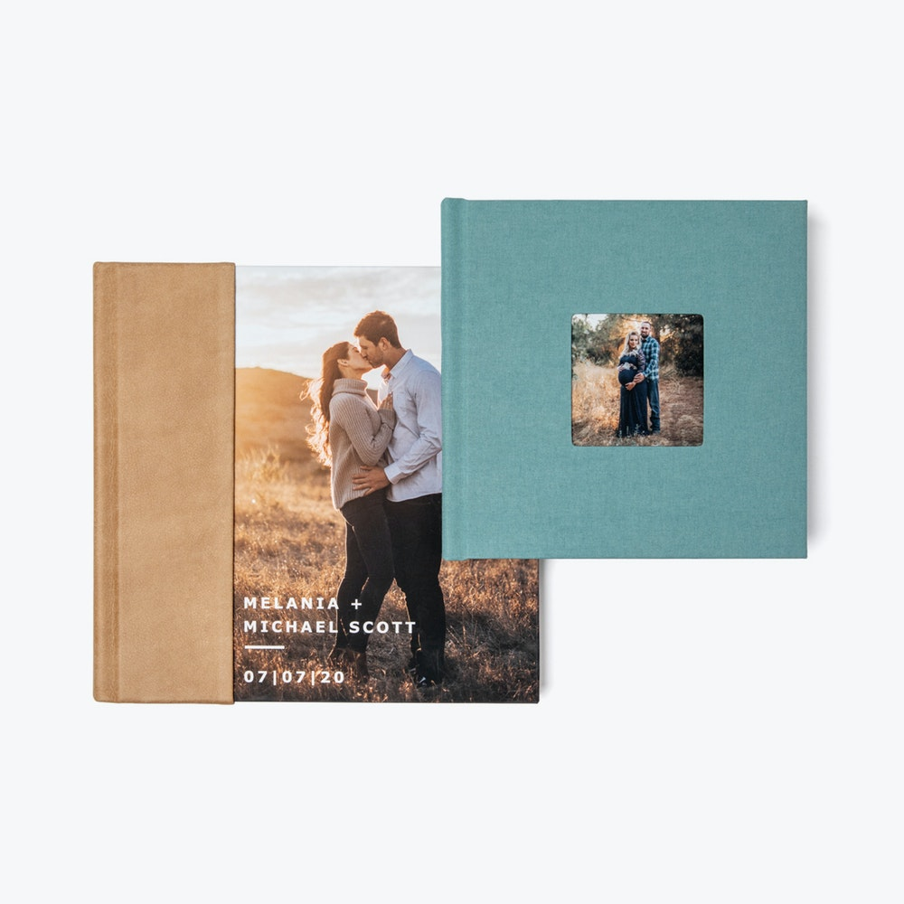 Combo and cameo cover Layflat Books