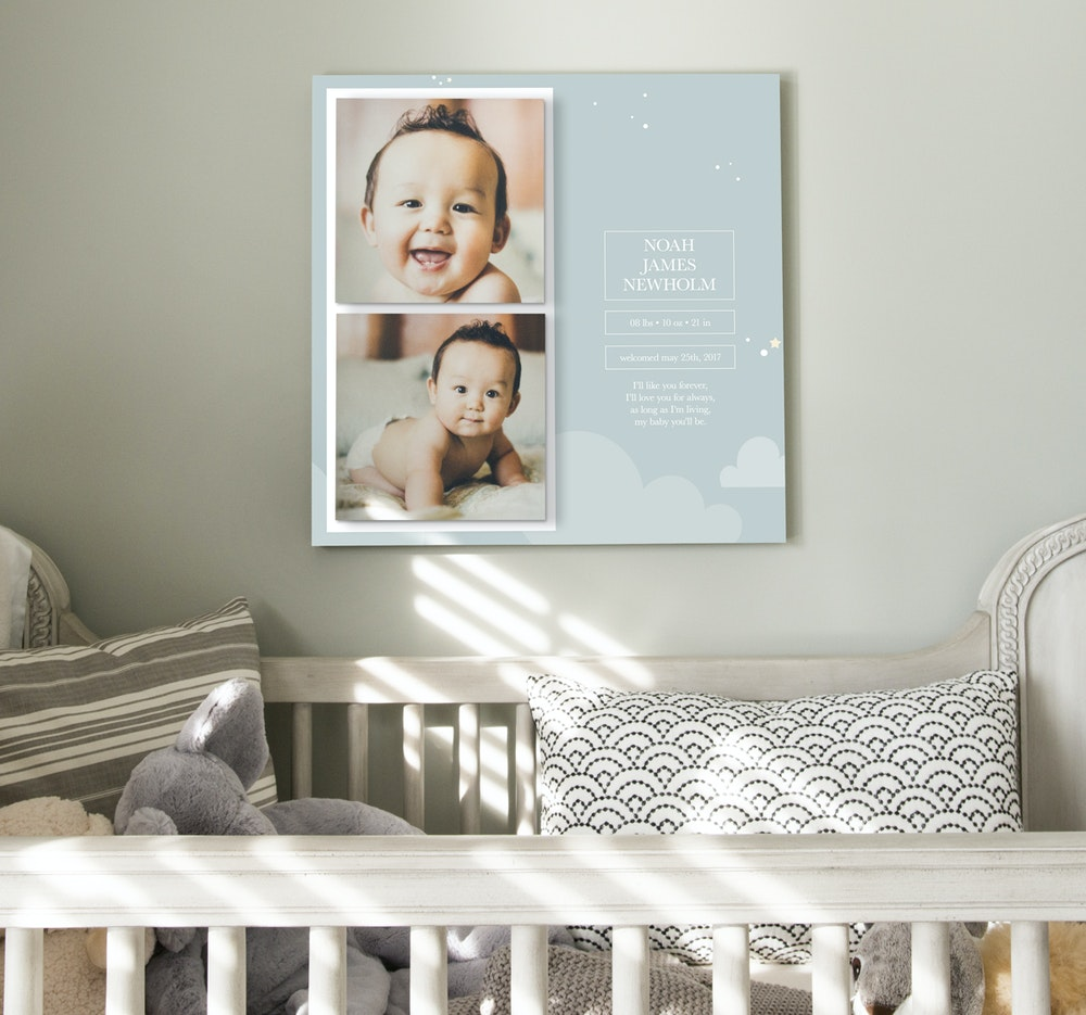 Newborn multi photo Image Block