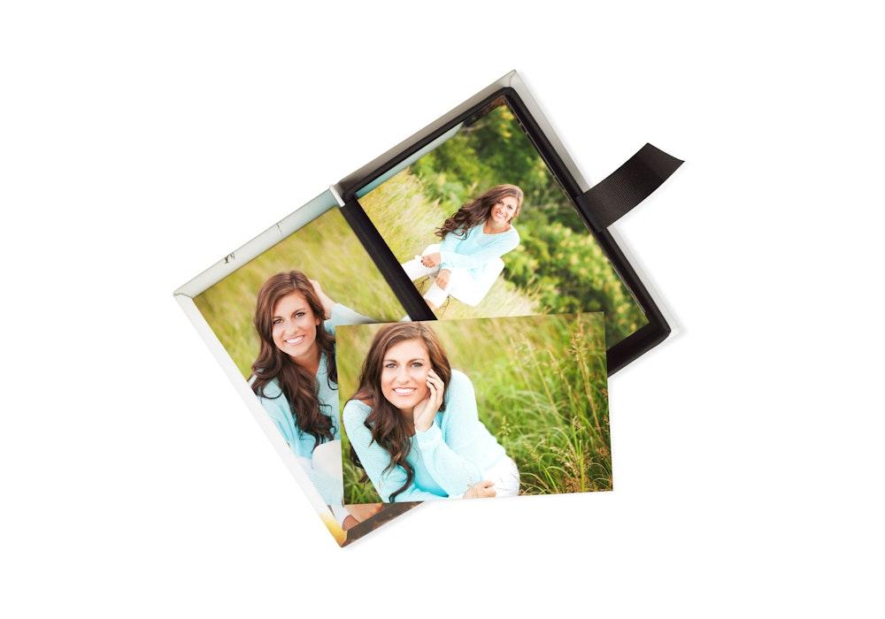 Image Box with custom photo panel and Photographic Prints