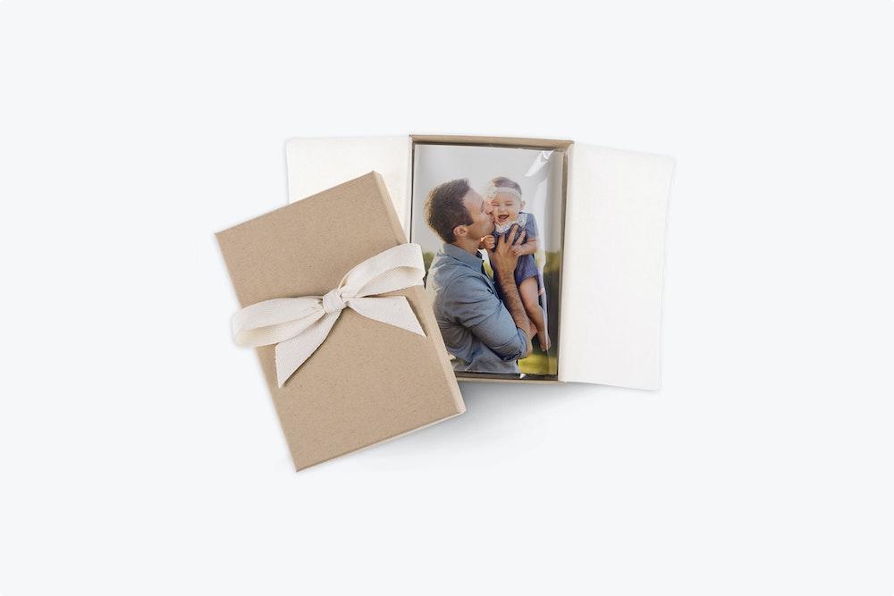 Kraft Premium Packaging with 5x7 Prints