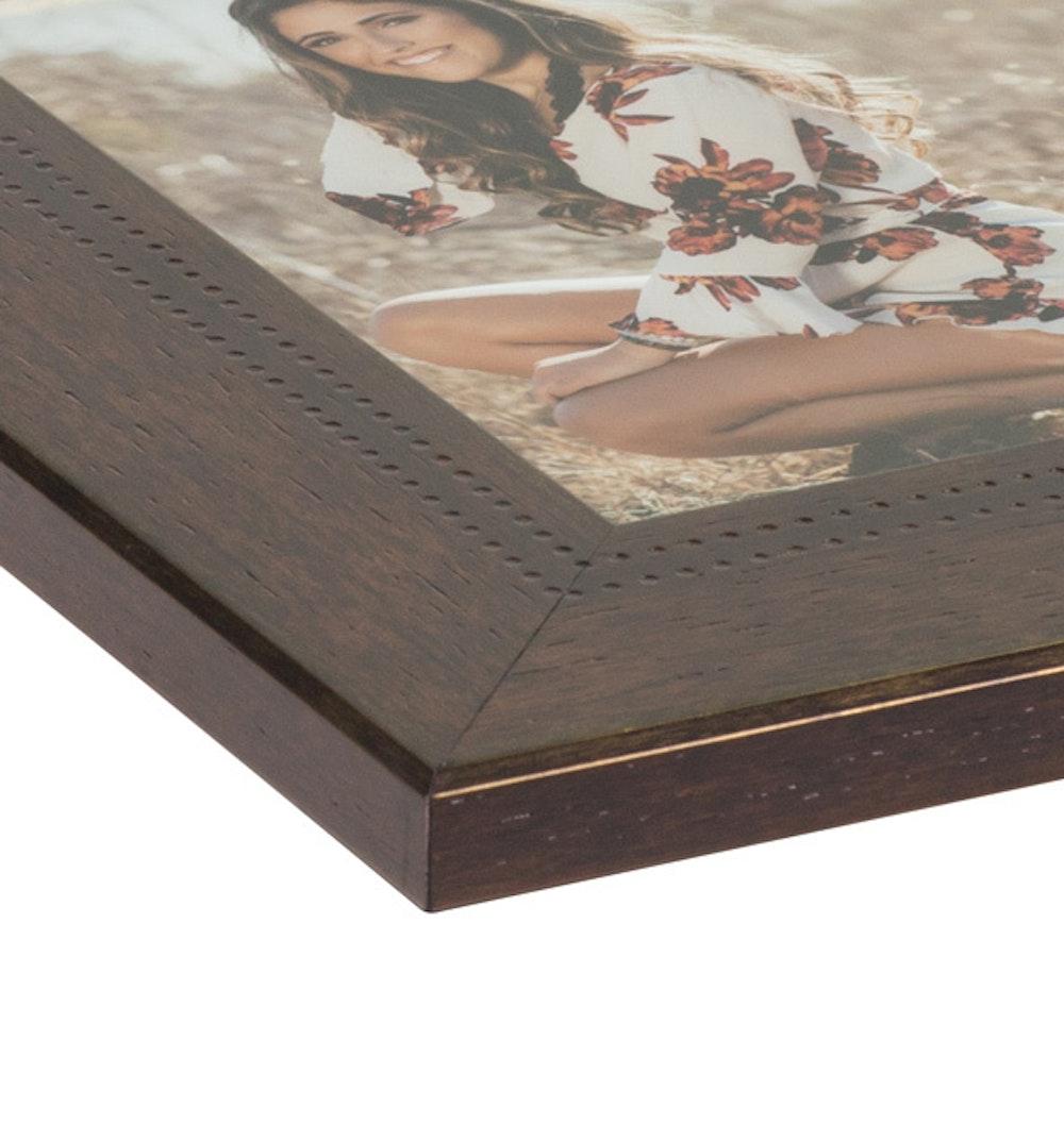 Framed Print deluxe Rumraisin moulding corner detail