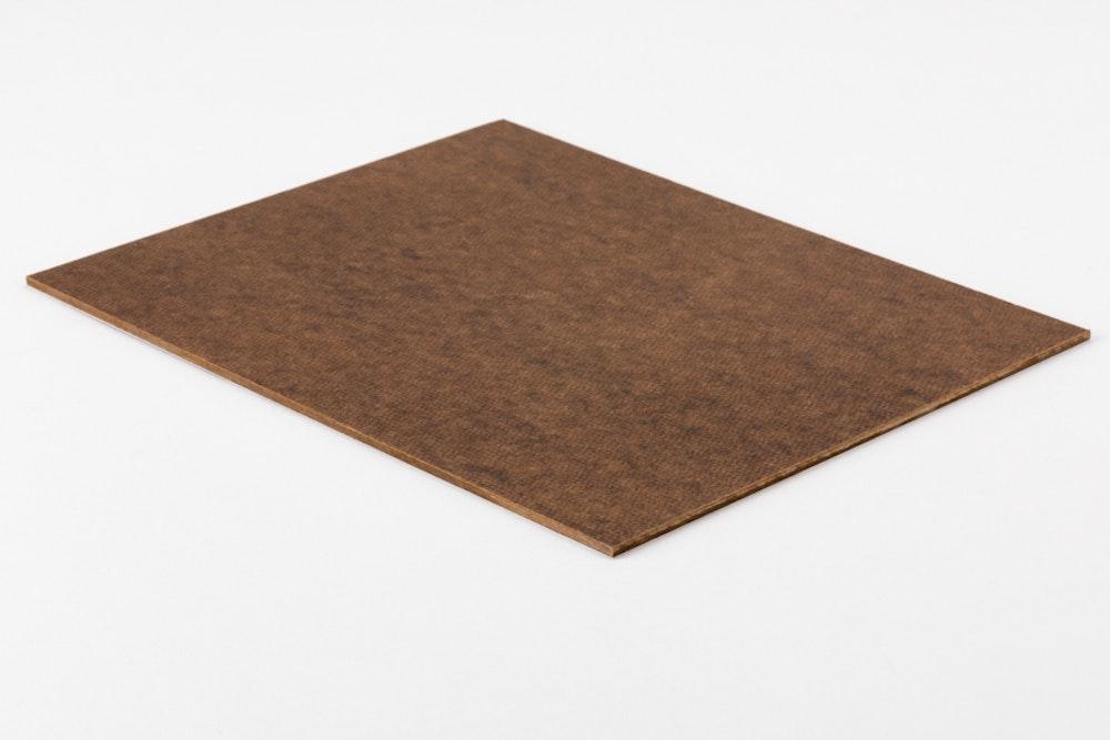 Masonite mounting blank surface