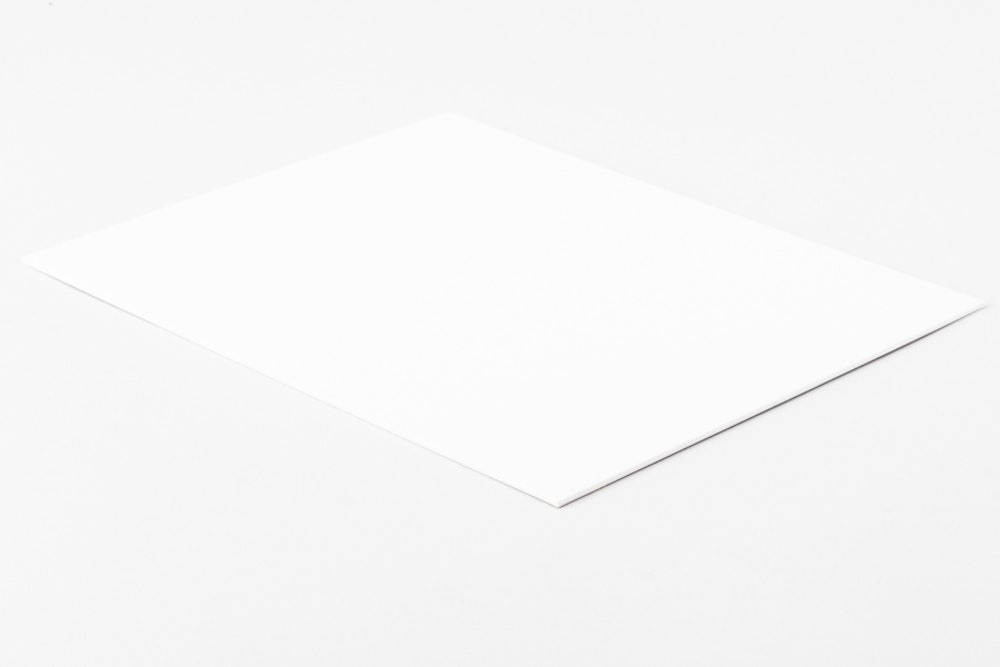 Black Matboard mounting surface