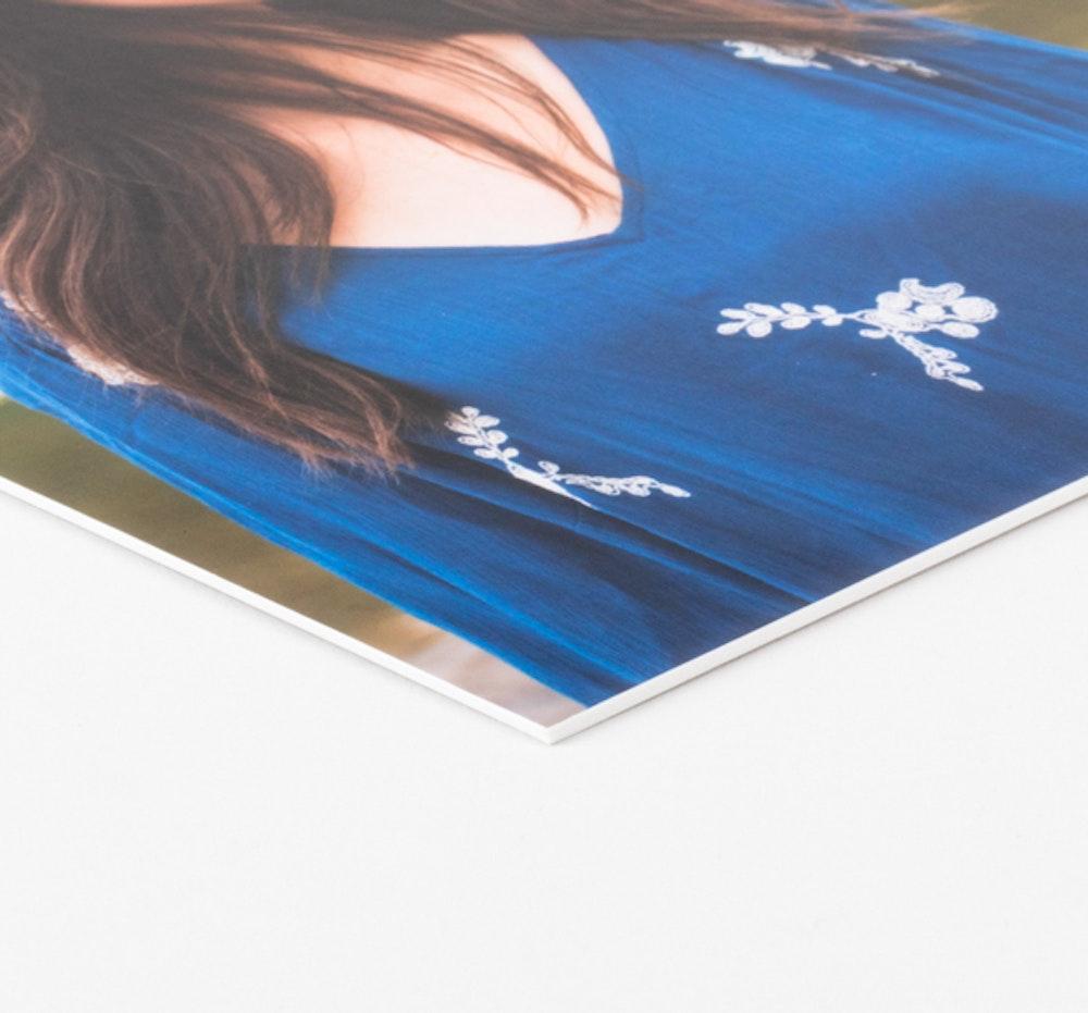Matboard mounting corner detail