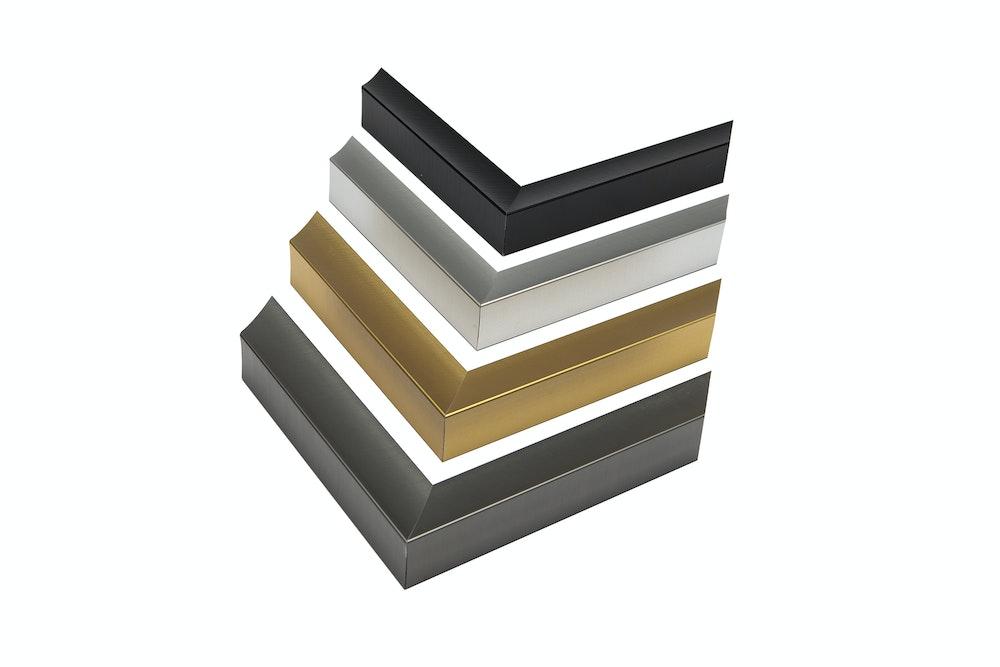 Metal Frame Color Options moulding corner details