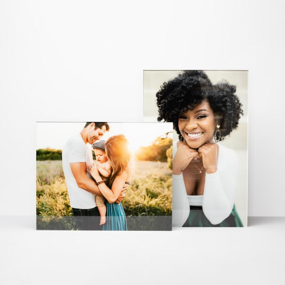 Multiple Acrylic Print portraits