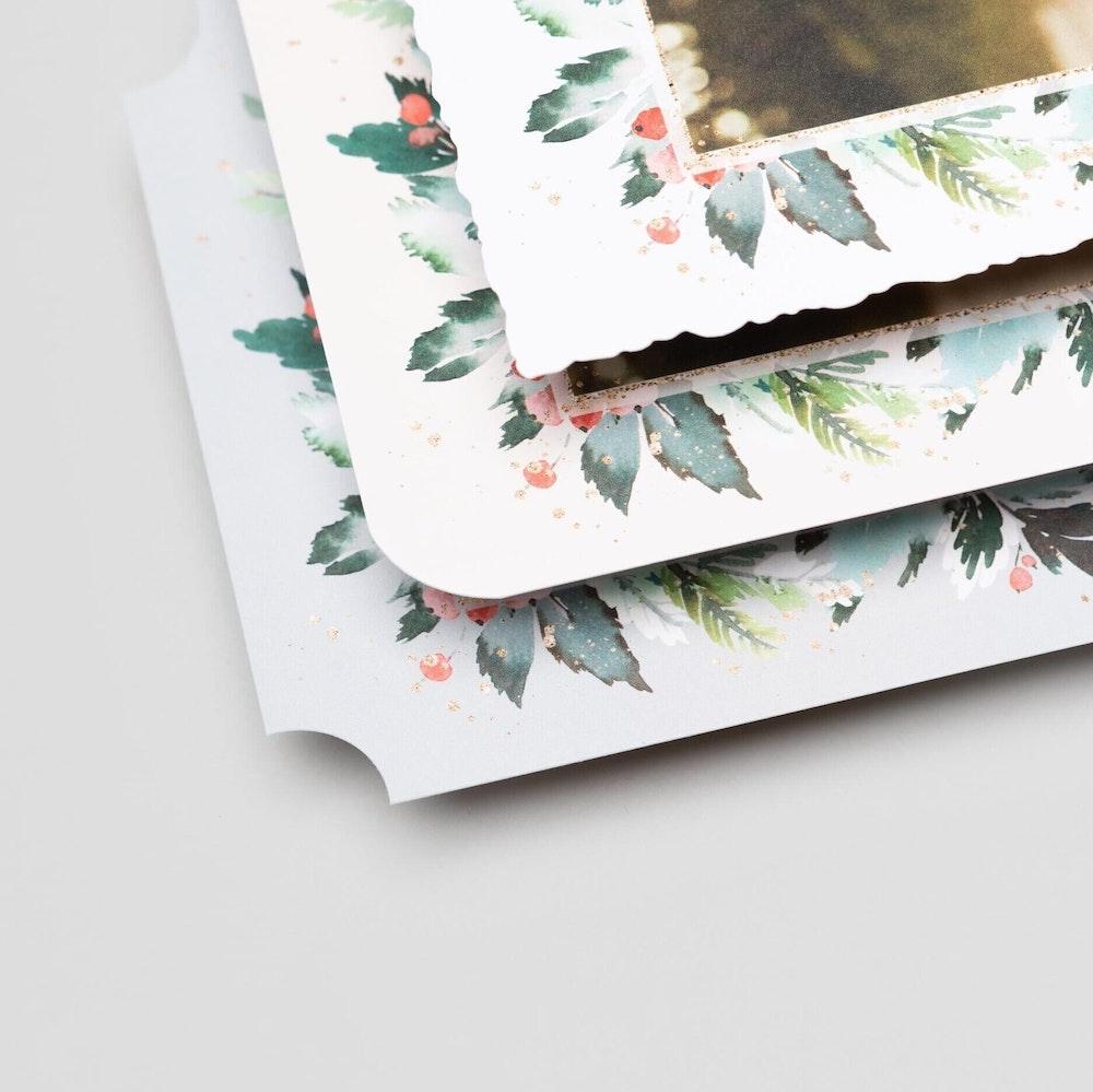 Multiple Flat Card shapes corner details (square crop)