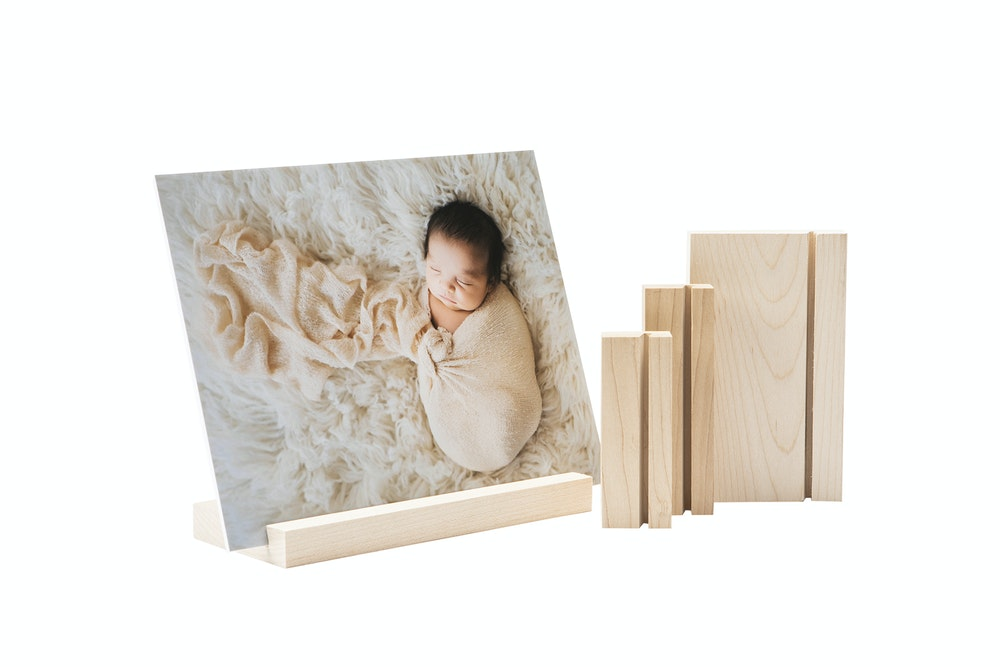 Maple Wood Display Stands in multiple sizes