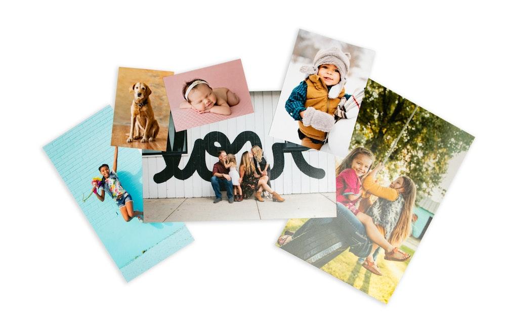 Multiple Photographic Print sizes