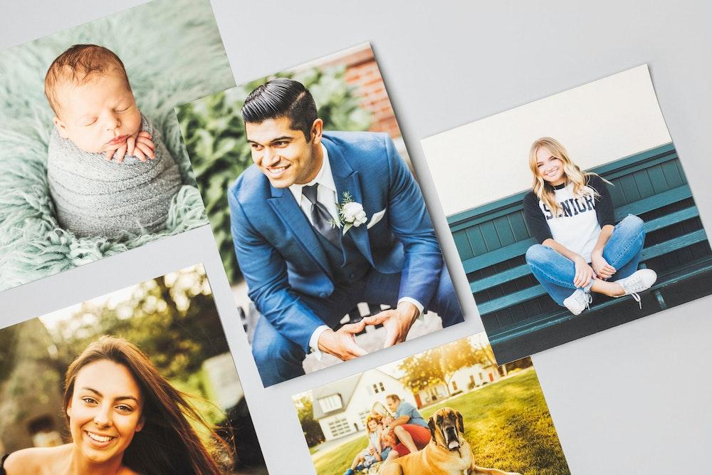 Multiple portrait photography Fine Art Prints