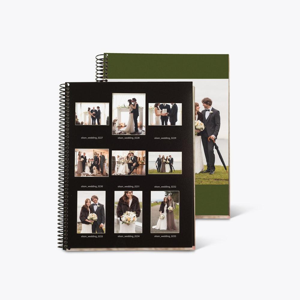 Multiple wedding Proofbooks