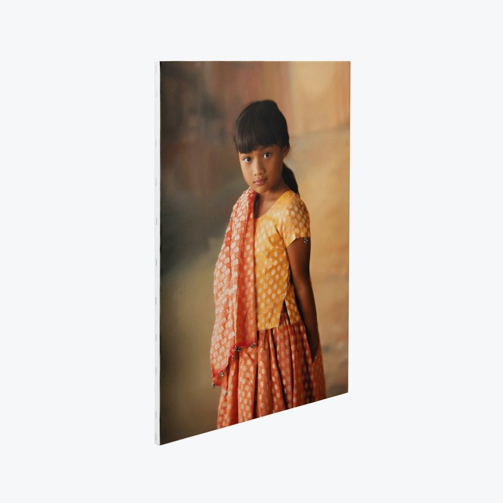Stretcher frame mounted Portrait Canvas