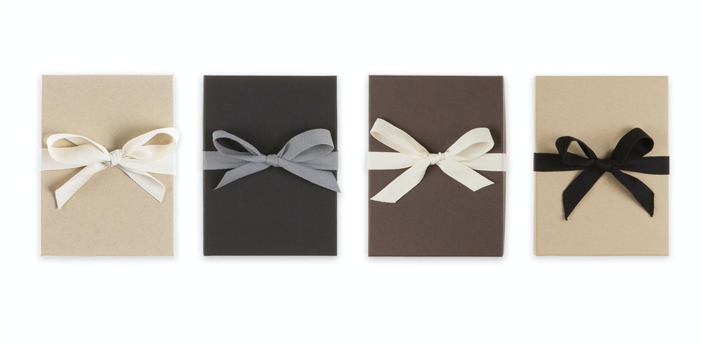 Premium Packaging color style options