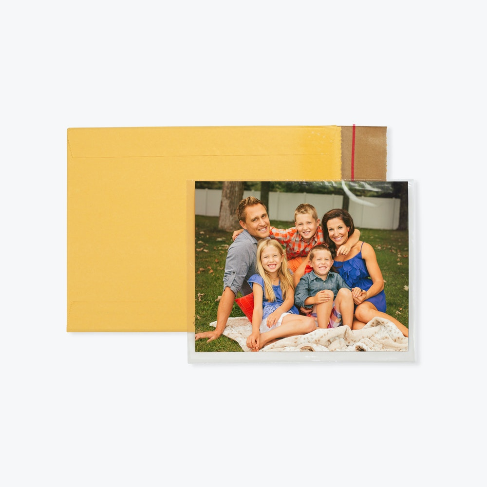 Print Fulfillment with shipping envelope