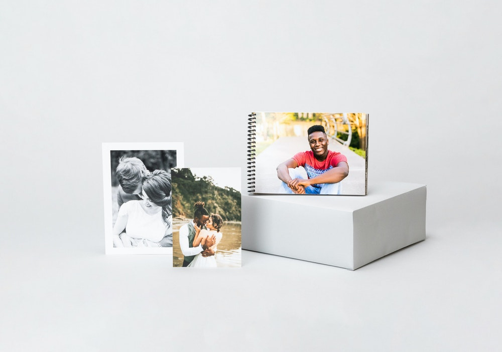 Proof Prints with and without borders & spiral bound