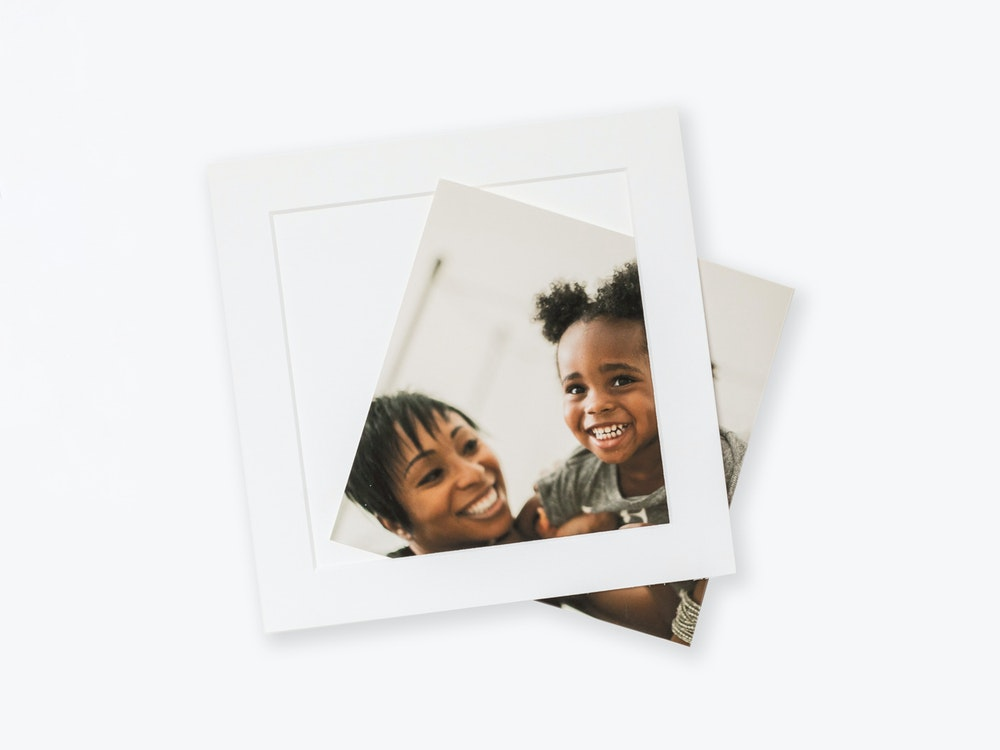 Slip-in Mats for square Photographic Prints