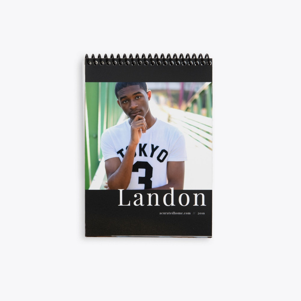 Spiral bound Proof Prints with custom cover design