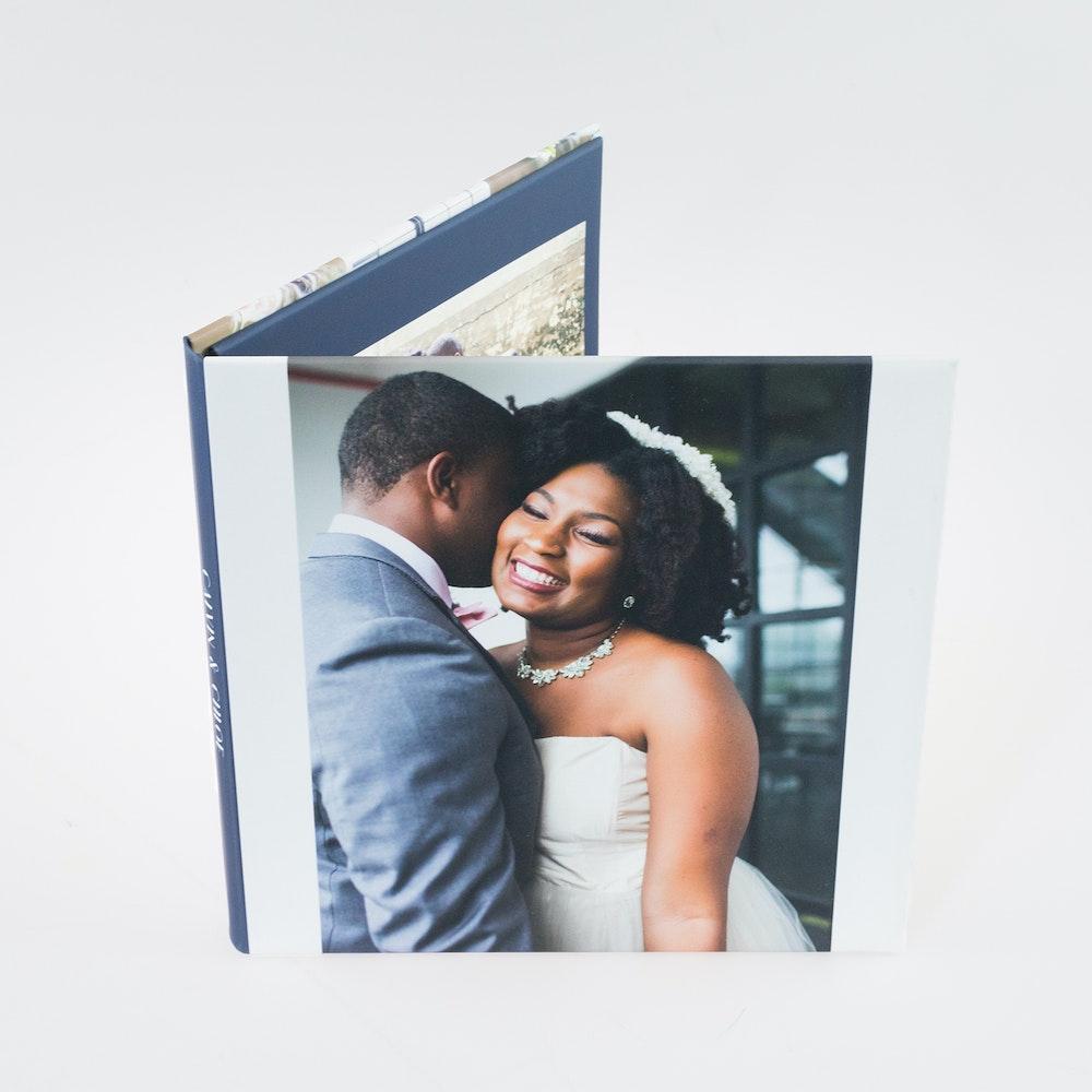 Wedding custom photo cover Image Folio