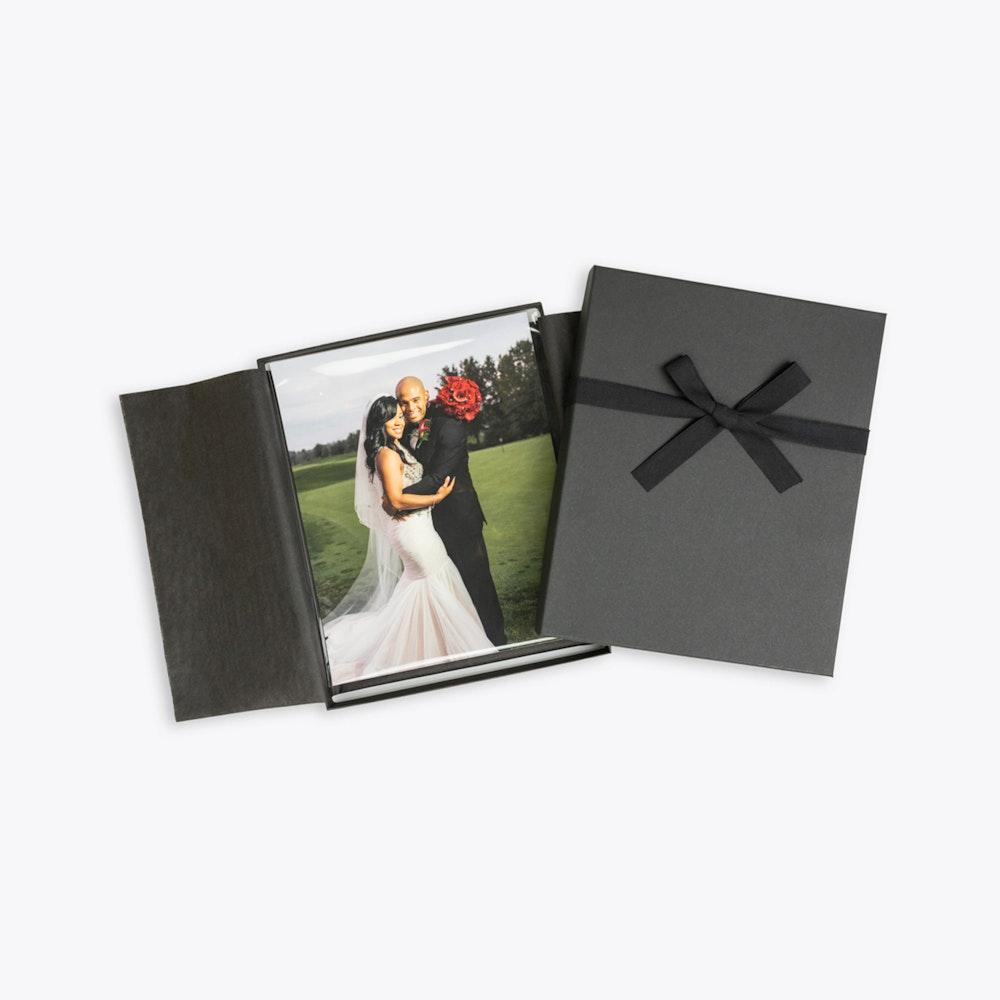 Wedding prints in charcoal Premium Packaging