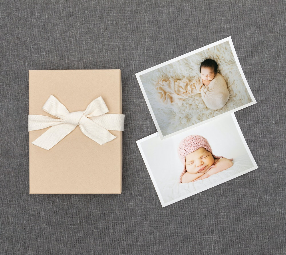 White border Proof Prints in kraft Premium Packaging